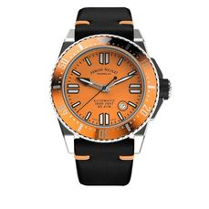 Armand Nicolet - JSS Orange Leather - A480HOA-OR-P0480NO8 - Men - 2011-present