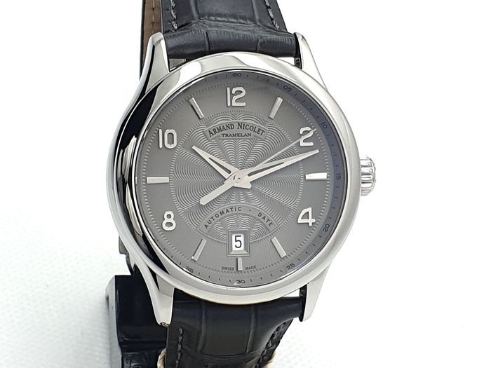Armand Nicolet - M02-4 - A840AAA-GR-P840GR2 - Swiss Made - Uomo - New