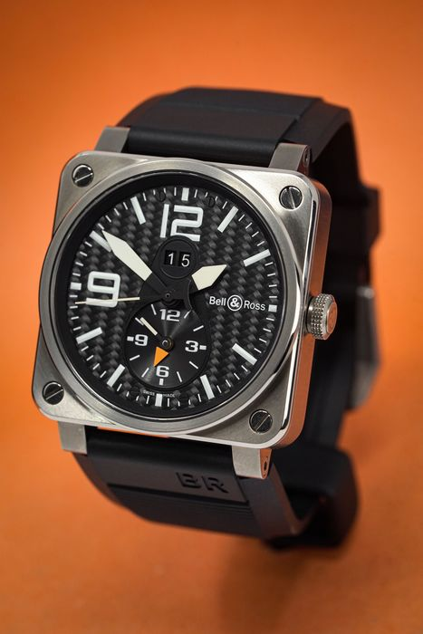 """Bell & Ross - GMT Titanium - BR03.51GMT """"NO RESERVE PRICE"""" - Homme - 2011-aujourd'hui"""