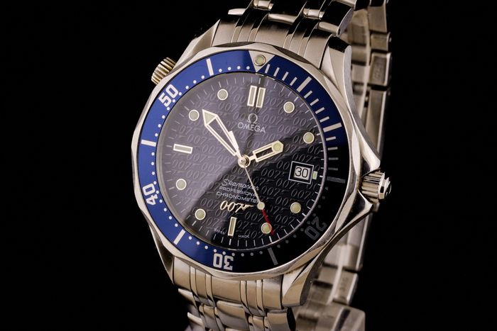 Omega - Seamaster James Bond 007 Professional Chronometer Limited Edition - 168 1626 - Homme - 1990-1999