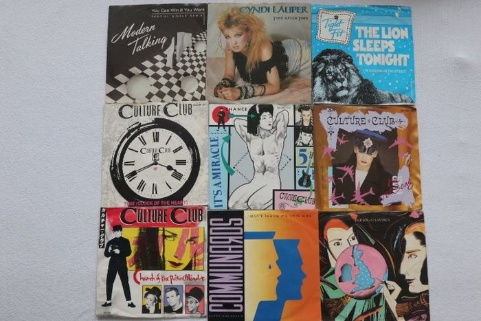 Various Artists/Bands in 1980's, Various Artists/Bands in Electronic / Dance - Artisti vari - 50 Songs from the 80's in the category Synth-Pop - Titoli vari - Singolo 45 Giri - 1980/1989