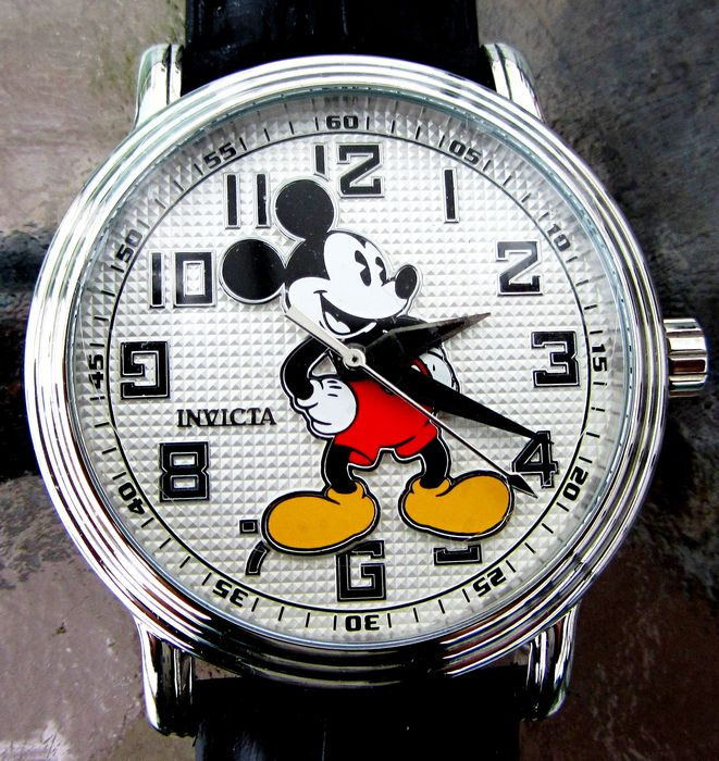 Disney Invicta Limited Edition 1529 of 5000 - Mickey Mouse - 30Mtrs 100ft 43mm Large Dial Quartz