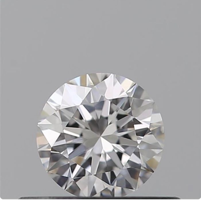 1 pcs Diamante - 0.34 ct - Brillante - D (incoloro) - VVS2