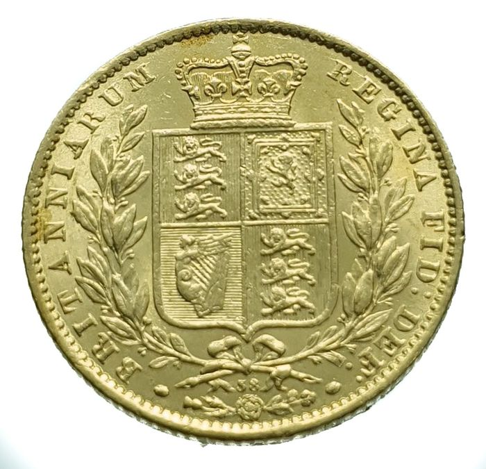 Reino Unido. Sovereign 1869 Victoria
