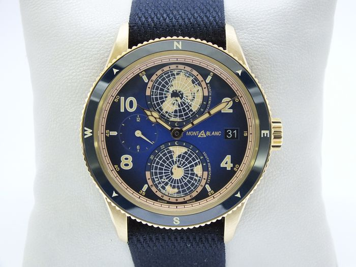Montblanc - 1858 Geosphere Meissner Limited Edition 1 of 262 Bronze Case 42 mm - MB126361 - Uomo - 2020