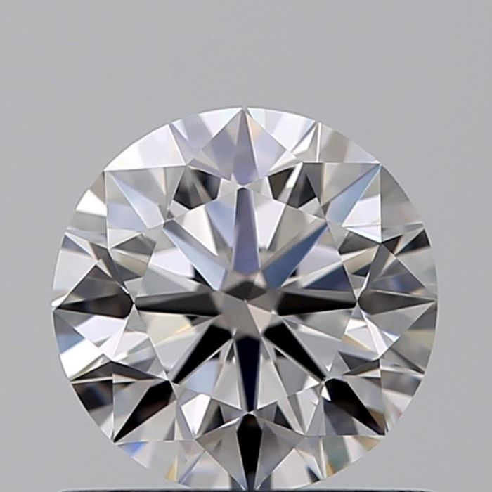 1 pcs Diamant - 0.70 ct - Brillant - D (incolore) - VVS2