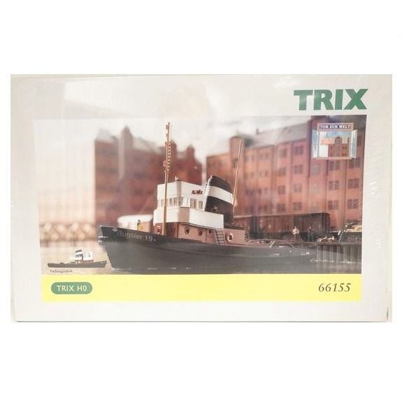 Trix H0 - 66155 - Scenery - Harbor tug, DIY kit