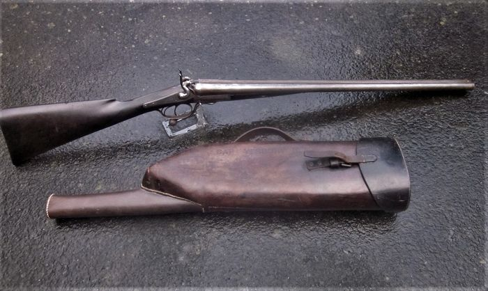Royaume-Uni - J Lawson Glasgow - Double (side by side) - À percussion centrale - Fusil de chasse - 12 ga