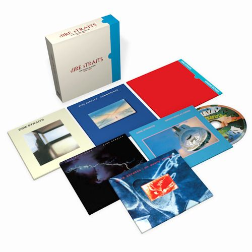 "Dire Straits  6 CD Box ""The Studio Albums 1978 - 1991"""" - Collection Packages All 6 Multi-Platinum Studio Albums - CD Boxset - 2020/2020"