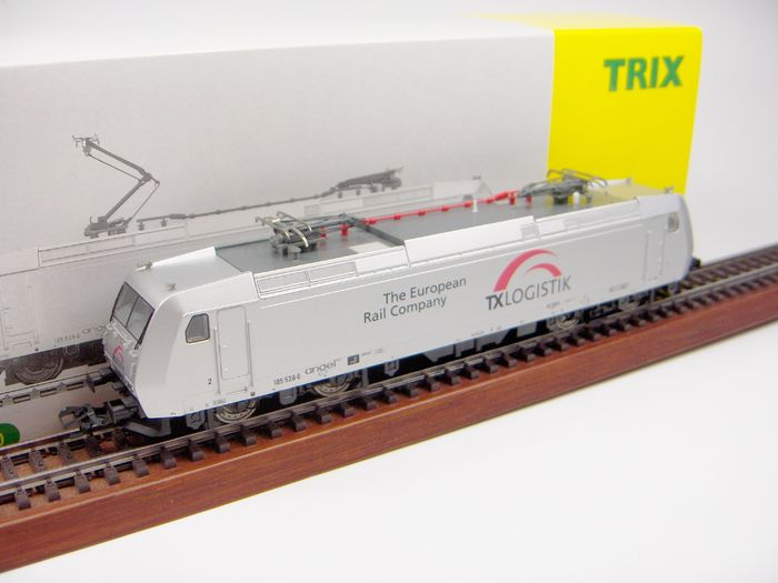 Trix H0 - 22091 - Locomotive électrique - BR 185 - TX Logistic