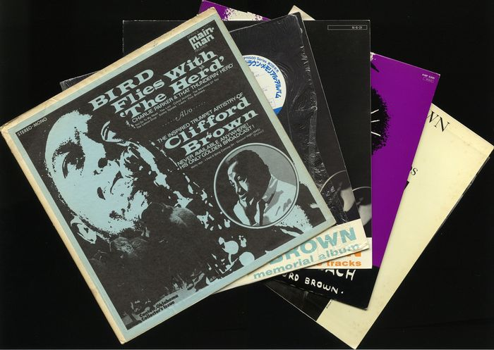 Clifford Brown - Five albums by this American jazz trumpeter including four releases from Japan - Diverse titels - LP's - 1970/1984