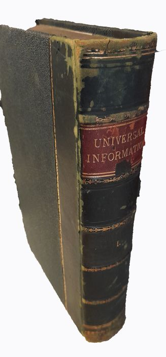 SO Beeton - Beeton's Dictionary of Universal Information Volume 1 - 1885/1890