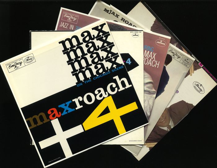 Max Roach - Five albums by this American jazz drummer and composer - Diverse titels - LP's - 1978/1984