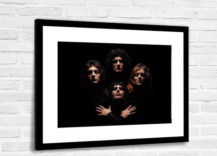 Queen - Bohemian Rhapsody Iconic Image - Framed Photo Print - Photo - 2020/2020