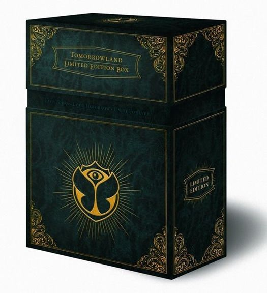 Various Artists/Bands in Electronic / Dance - Tomorrowland: Limited Edition Box (only 1500 copies worldwide) - Deluxe edition, Limited box set - 2016/2016