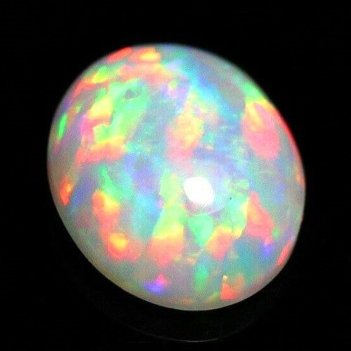 1 pcs multicolor Ópalo - 2.92 ct