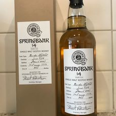 Springbank 1992 14 years old Society bottling - Official bottling - 70 cl