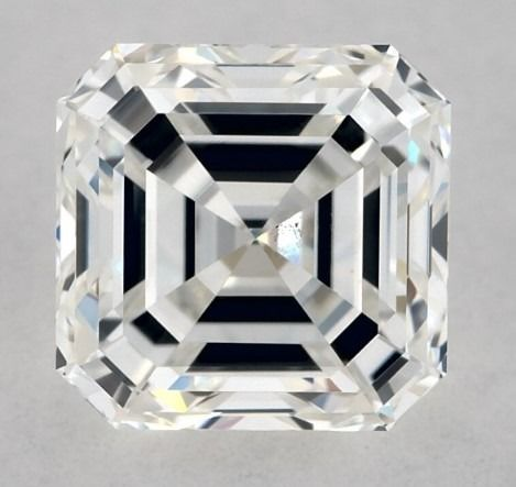 Diamante - 0.70 ct - Asscher - H - VS2