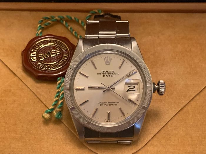 Rolex - Date - 1501 - Homme - 1970