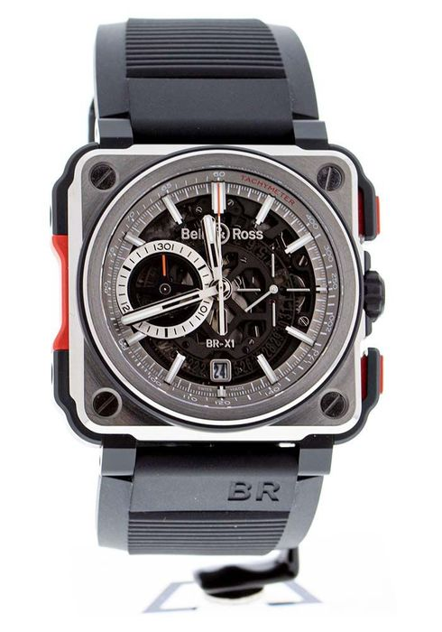 Bell & Ross - BR-X1 - Limited Edition 250 Pieces - BRX1-CE-TI-RED - Heren - 2011-heden