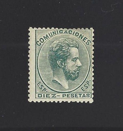 Spagna 1872 - 10 Pesetas Amadeo I of Spain, mint with Authenticity Certificate - Edifil 129