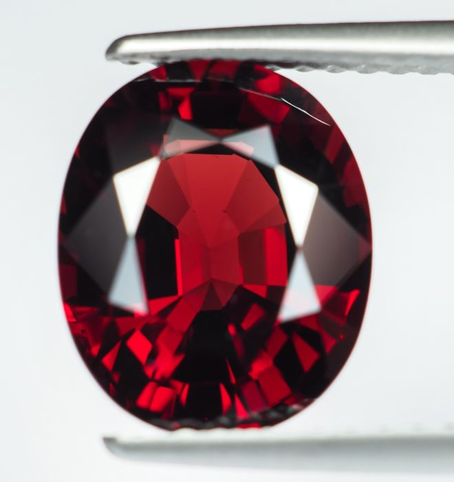 No Reserve - Burma - Vivid Red Spinel - 3.67 ct