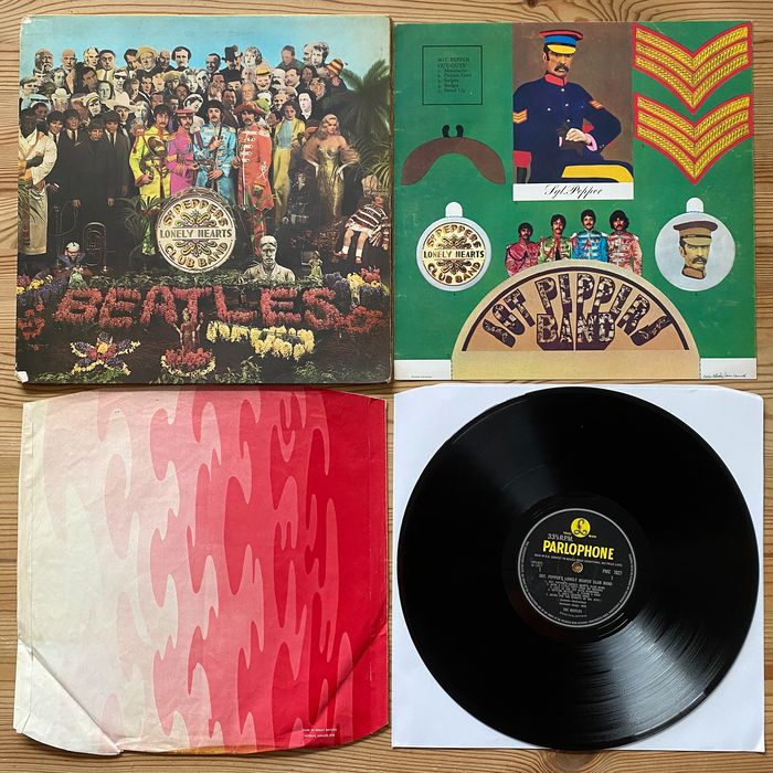 Beatles - Sgt. Pepper's Lonely Hearts Club Band [first UK mono pressing] - LP Album - 1967/1967