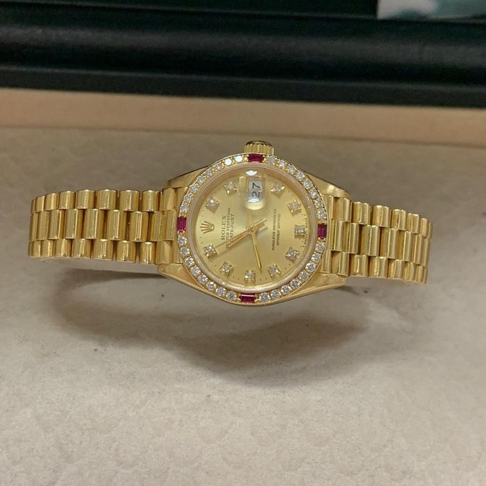 Image 2 of Rolex - Oyster Perpetual DateJust - 69068 - Women - 1990-1999