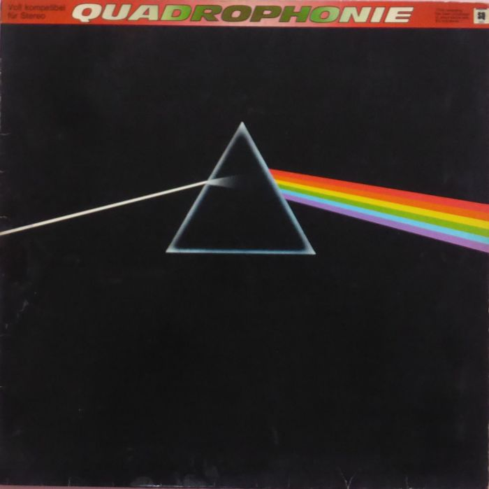 Pink Floyd - The Dark Side Of The Moon [German, Quadrophonic Pressing] - LP Album - 1974