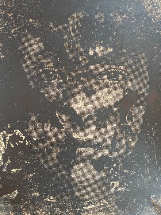 Image 2 of Vhils (1987) - Oxymoron