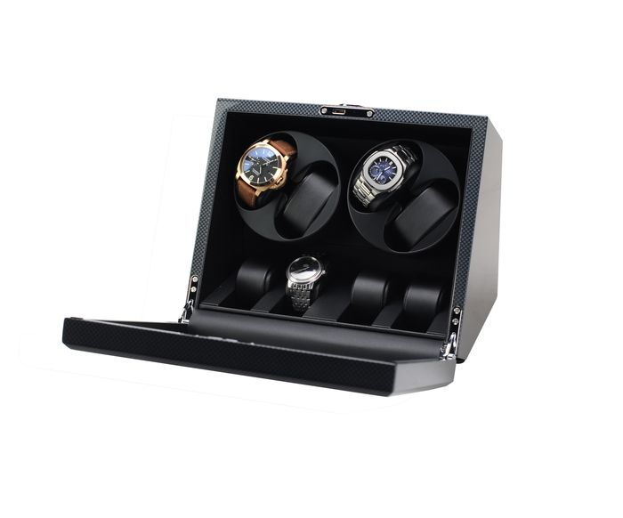 Preview of the first image of Premium - Watchwinder voor 4 horloges - 2011-present.