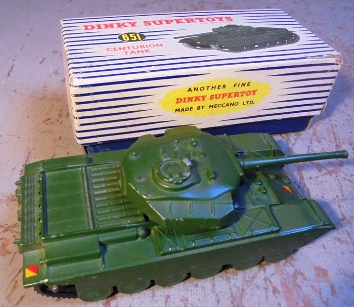 Preview of the first image of Dinky Toys - 1:55 - 651 Centurion Tank.