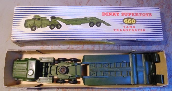 Image 2 of Dinky Toys - 1:50 - 660 Thornycroft Mighty Antar Tank Transporter,