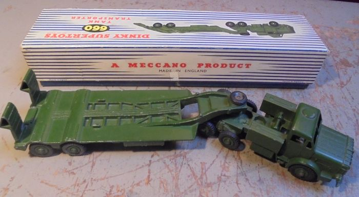 Image 3 of Dinky Toys - 1:50 - 660 Thornycroft Mighty Antar Tank Transporter,