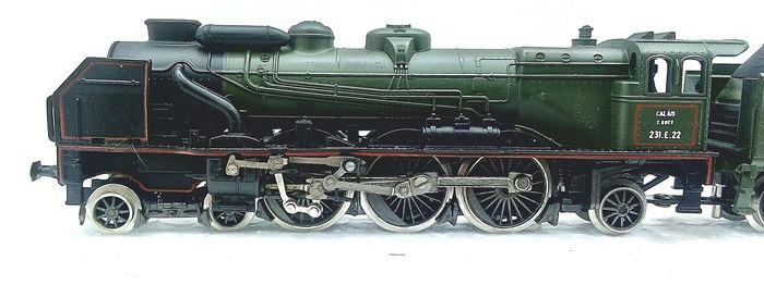 """Image 3 of Rivarossi N - 9182 - Steam locomotive with tender - Type 231E """"Pacific Chapelon"""" - SNCF"""