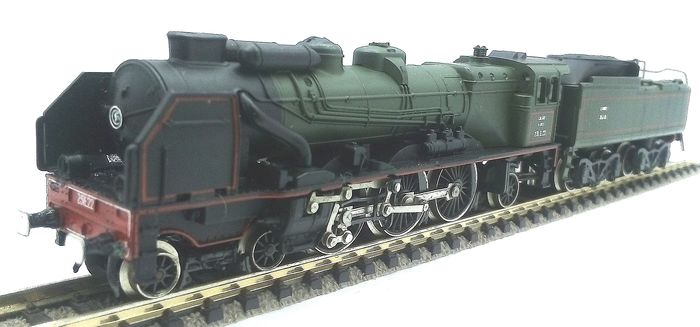 """Preview of the first image of Rivarossi N - 9182 - Steam locomotive with tender - Type 231E """"Pacific Chapelon"""" - SNCF."""