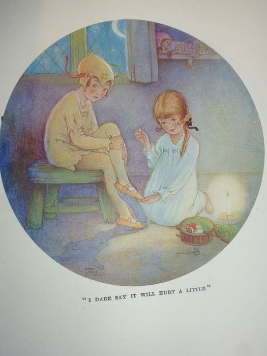 J M Barrie  illustrated by Mabel   Lucie  Attwell - Peter Pan and Wendy - 1920