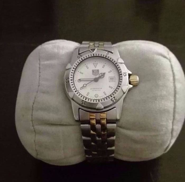 TAG Heuer - 2000 Series Professional 200m - Ref. WD1421-PQ - Mujer - 1996