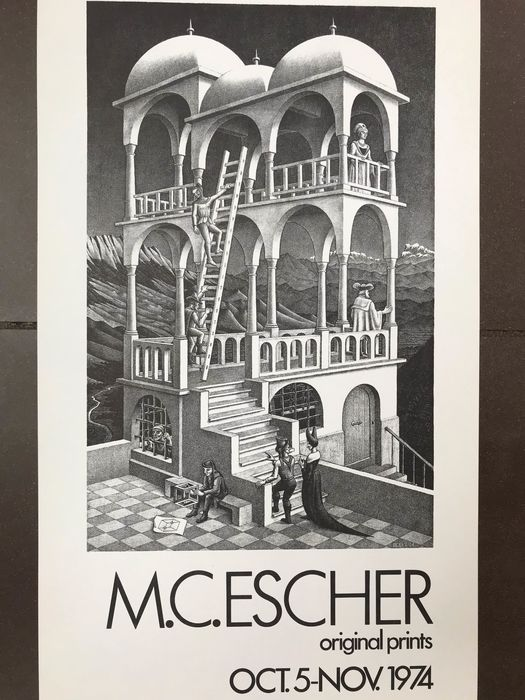 M.C. Escher - Vorpal Gallery Chicago - 1974