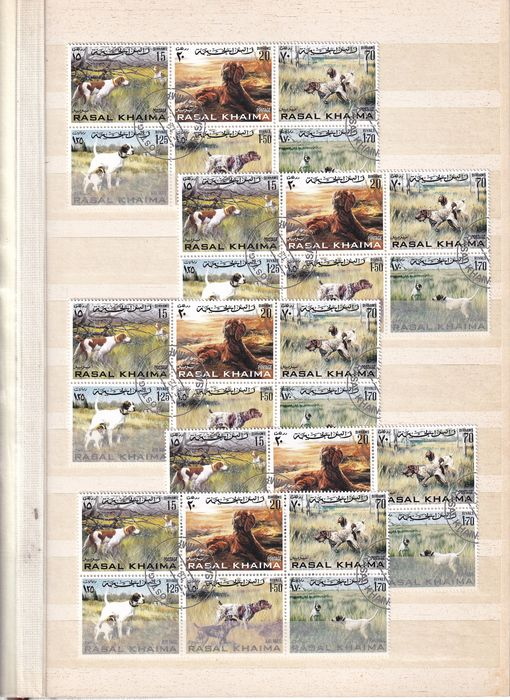 Mundo - Themes on stamps, amongst others, Animals/Fairy Tales/Transportation/Sports