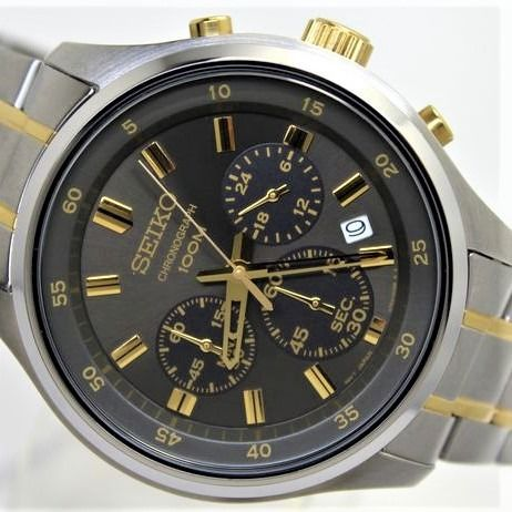 """Seiko - """"NO RESERVE PRICE"""" - Chronograph New & Boxed - Heren - 2011-heden"""