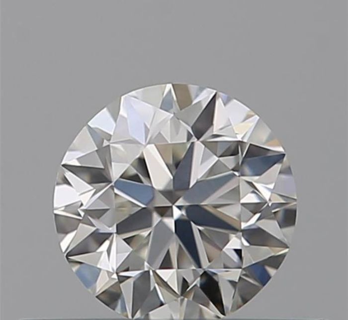 1 pcs Diamant - 0.50 ct - Brillant - F - VVS1
