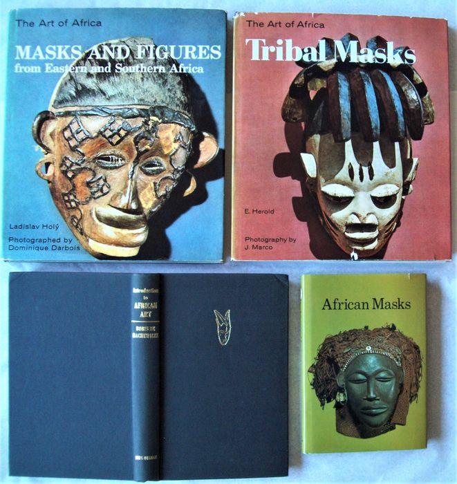 Ladislav Holy a.o. - Masks and Figures from Eastern and Southern Africa ( +3) - 1966/1969