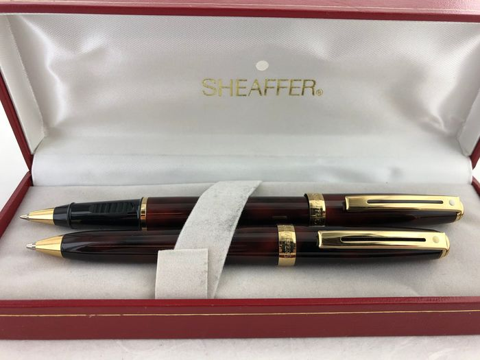 Sheaffer - Preludio Rodillo mixto Tortuga Laca Marrón + Vulpoltood