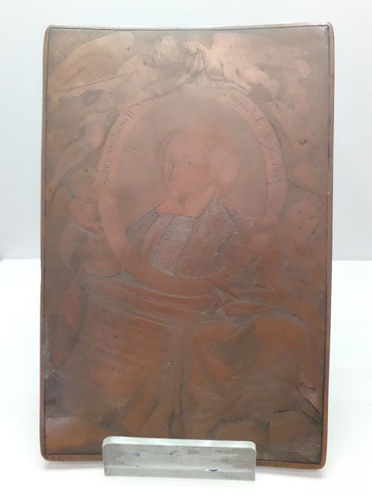 copper plate engraved in 1797 Antonio Zacco - Copper - Late 18th century