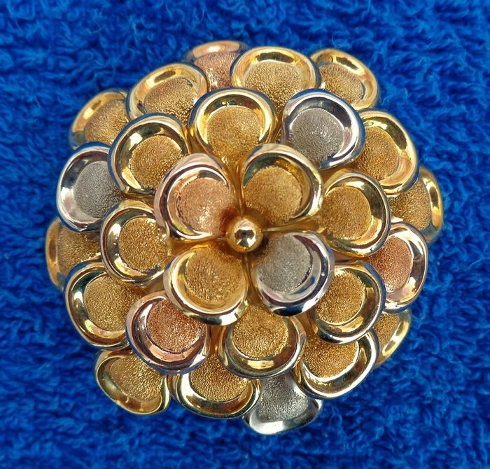 COI - Firenze Italy - 18 carats Or - Broche