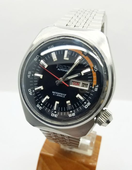 Ricoh - day date automatic - Homme - 1980-1989
