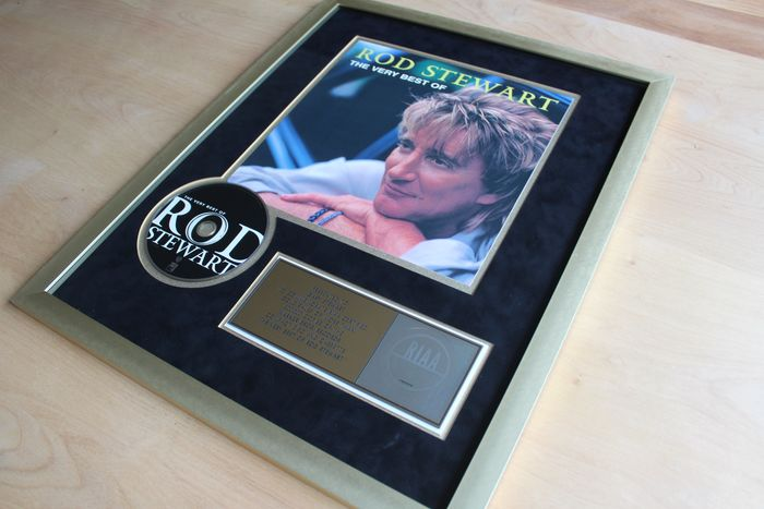 Rod Stewart - The Story So Far: The Very Best Of - Official RIAA award - 2001/2001