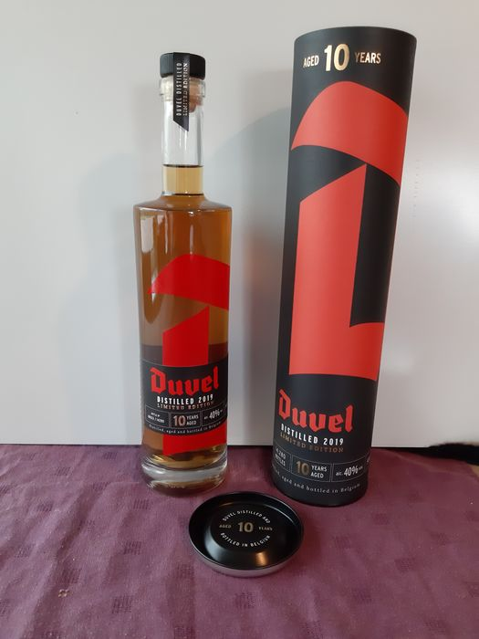 Duvel Moortgat 10 years old - Duvel Distilled - b. 2019 - 50 cl