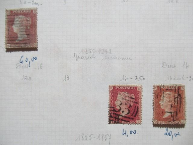 Mundo - Collection of classic world stamps.